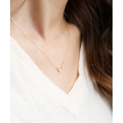 L&Co. / K10 ダイヤモンド モチーフ ネックレス WOMEN アクセサリー > ネックレス