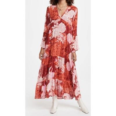 フリーピープル Free People レディース ワンピース マキシ丈 ワンピース・ドレス Moroccan Roll Maxi Dress Pop Combo