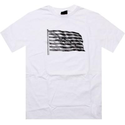 ハフ HUF メンズ Tシャツ トップス Dont Tread Tee white