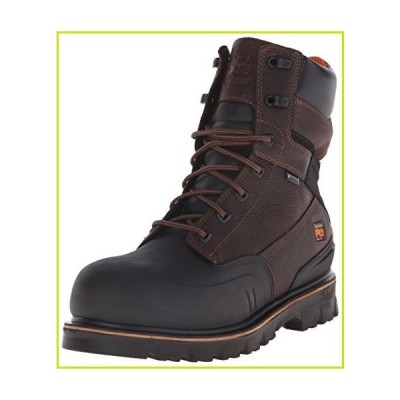 Timberland PRO Men's 8 Inch Rigmaster XT Steel Toe Waterproof Work Boot, Brown Tumbled Leather, 10 M US【並行輸入品】