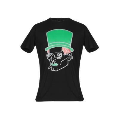 LUCABEE T シャツ ブラック S コットン 94% / ポリウレタン 6% T シャツ