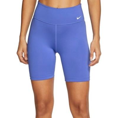 ナイキ カジュアルパンツ ボトムス レディース Nike One Women's 7'' Bike Shorts Sapphire