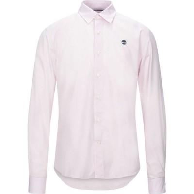 ティンバーランド TIMBERLAND メンズ シャツ トップス Solid Color Shirt Pink