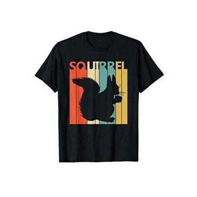 Squirrel リス 動物 Tシャツ