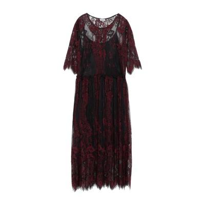 リュー ジョー LIU •JO 7分丈ワンピース・ドレス ボルドー S ポリエステル 100% 7分丈ワンピース・ドレス