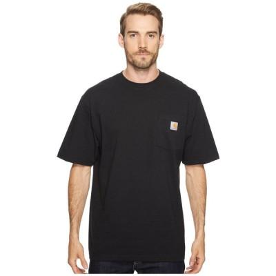 カーハート Carhartt メンズ Tシャツ 大きいサイズ ポケット トップス Big & Tall Workwear Pocket S/S Tee Black