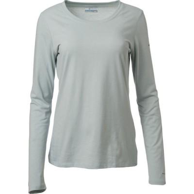 コロンビア Columbia レディース トップス Solar Shield Long Sleeve Shirt Cool Green