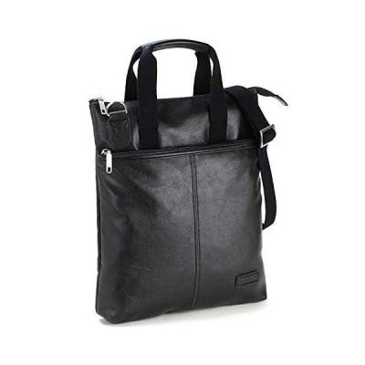 日本製 軽量 [豊岡製 かばん] 縦型 ビジネスバッグ 2WAY ショルダー 手提げ 27cm幅 410g メンズ 紳士 機能性 バッグ