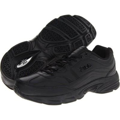 フィラ Fila メンズ スニーカー シューズ・靴 Memory Workshift Black/Black/Black