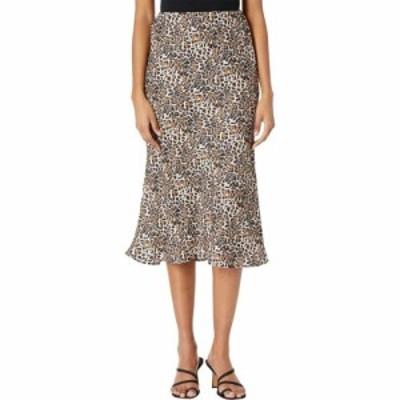 ロックアンドロールカウガール Rock and Roll Cowgirl レディース ひざ丈スカート スカート Midi Skirt Print 69-7627 Leopard