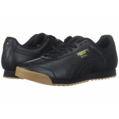 PUMA プーマ メンズ 男性用 シューズ 靴 スニーカー 運動靴 Roma Classic Gum Puma Black/Puma Team Gold【送料無料】