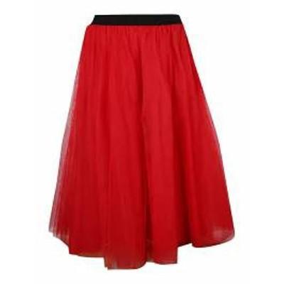 MSGM レディーススカート MSGM Tulle Midi Skirt