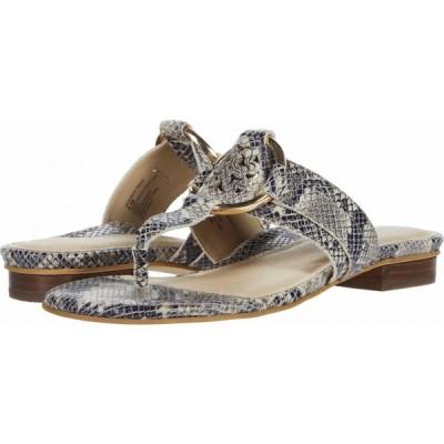 カルソーアースシューズ Earth レディース サンダル・ミュール シューズ・靴 Mykonos Tinos Taupe Multi Shiny Python