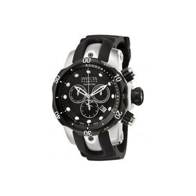 腕時計 インヴィクタ メンズ Invicta0947 ヴェノム Reserve スイス クロノグラフ ブラック ダイヤル Poly 腕時計
