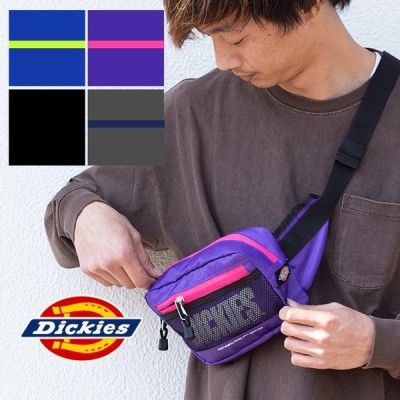 【SALE!!】【 Dickies ディッキーズ 】 RIPSTOP WAIST BAG リップストップ ウエストバッグ 14065500