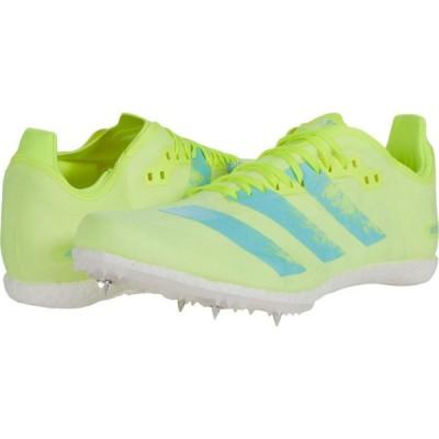 アディダス adidas Running レディース ランニング・ウォーキング シューズ・靴 Adizero Avanti Spikes Solar Yellow/Aqua/Black
