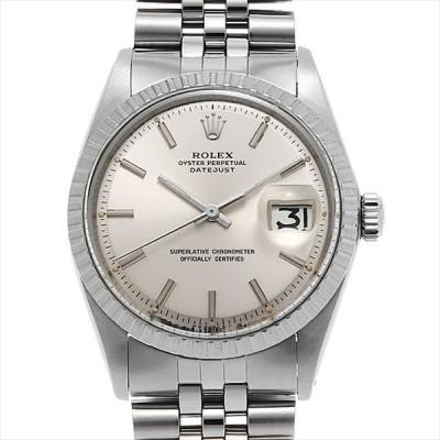 60回払いまで無金利 ロレックス デイトジャスト 1603 シルバー/バー 21番 アンティーク メンズ 腕時計