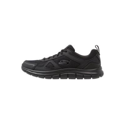 スケッチャーズ メンズ 靴 シューズ TRACK SCLORIC - Trainers - black