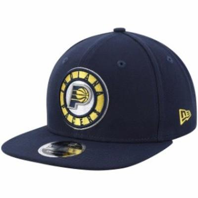 New Era ニュー エラ スポーツ用品  New Era Indiana Pacers Navy Center Court 9FIFTY Snapback Adjustable Hat
