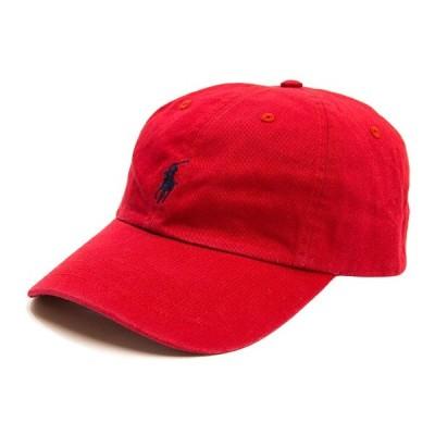 ポロ ラルフローレン キャップ POLO by Ralph Lauren Cotton Chino Baseball Cap 帽子 レッド