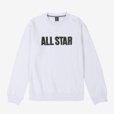 コンバース CONVERSE CA292210 クルーネックスウェットシャツ メンズ レディース バスケットウェア