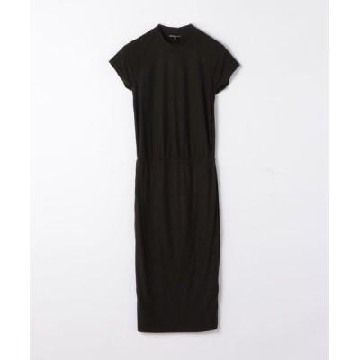 TOMORROWLAND/トゥモローランド コットンジャージー Tシャツドレス WVD6474 18 チャコールグレー 0(S)