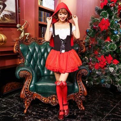 特価 赤い帽子大人の女 芝居の服 服装 日本舞台の舞台服の服従してキャラクターを扮してハロウィン服を演 変身 コスプレ 衣装 仮装 コスチューム Halloween 服 Y