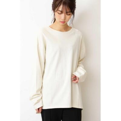 【フリーズマート】 ビッグロングTシャツ レディース ホワイト FR FREE'S MART