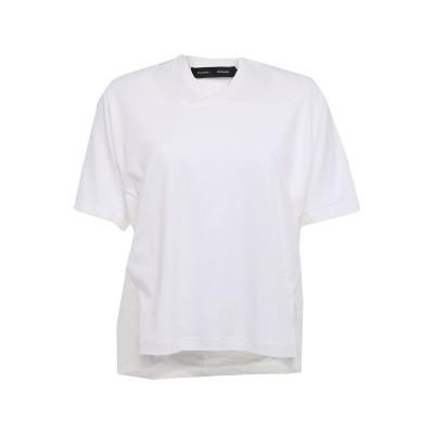 プロエンザスクーラー PROENZA SCHOULER T シャツ ホワイト XS コットン 100% T シャツ