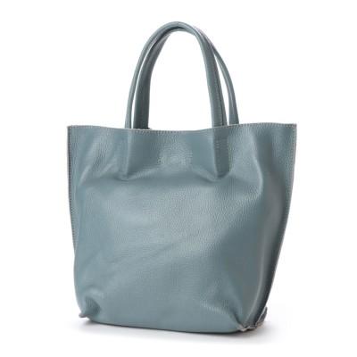 ベース BASE 2WAY インバッグ付き 本革トートバッグ (ブルー)