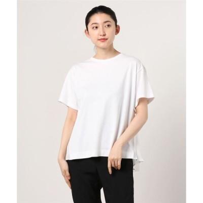 tシャツ Tシャツ Ray BEAMS / バック プリーツ ハーフスリーブ Tシャツ