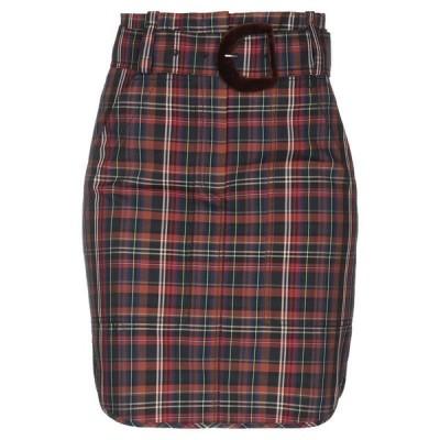 SANDRO ひざ丈スカート  レディースファッション  ボトムス  スカート  ロング、マキシ丈スカート ブラウン