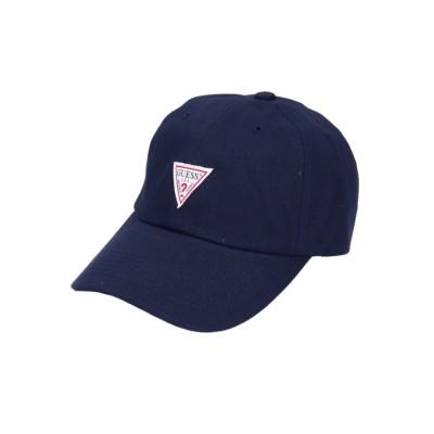 (GUESS/ゲス)GUESS TWILL LOW CAP/ユニセックス ネイビー