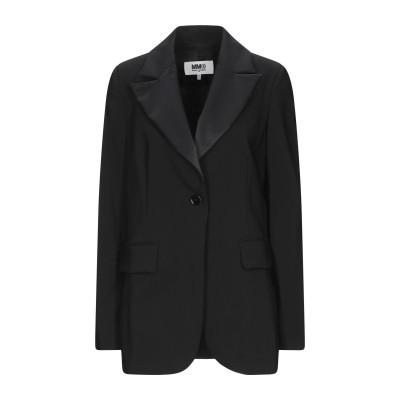 MM6 メゾン マルジェラ MM6 MAISON MARGIELA テーラードジャケット ブラック 36 バージンウール 100% / ポリエステル