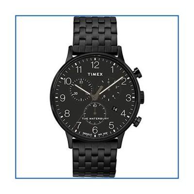 <新品>Timex。 40mm Black - Burnished Steel<並行輸入品>