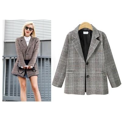 数量限定 レンチコート レディース コート 通勤 オフィス 千鳥チェック 大きいサイズ 韓国ファッション 暖かい 秋冬 ロングコート