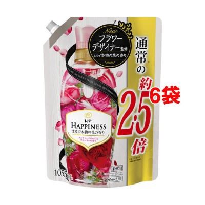 レノアハピネス アンティークローズ&フローラル つめかえ用 特大サイズ ( 1055ml*6袋セット )/ レノアハピネス