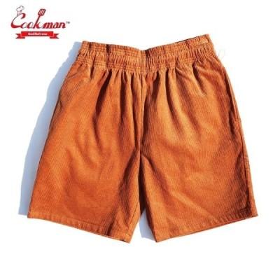 COOKMAN/クックマン Chef Short Pants/シェフショートパンツ・「Corduroy」 Brown