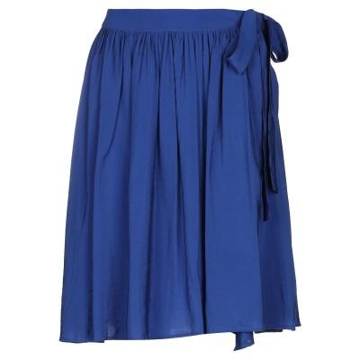 イチ ICHI ひざ丈スカート ブルー 36 レーヨン 80% / ナイロン 20% ひざ丈スカート
