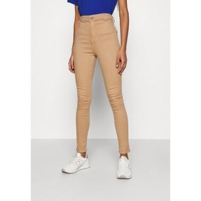 ノイジーメイ デニムパンツ レディース ボトムス NMEMILY - Slim fit jeans - praline