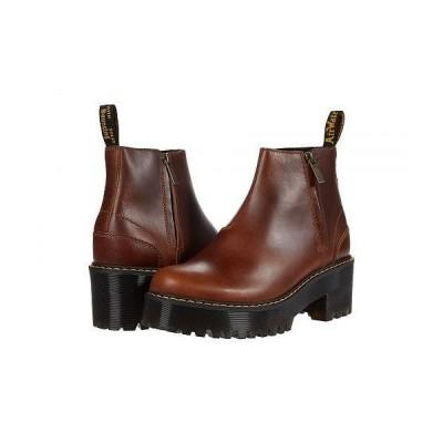 Dr. Martens ドクターマーチン レディース 女性用 シューズ 靴 ブーツ アンクル ショートブーツ Rometty II - Butterscotch Orleans