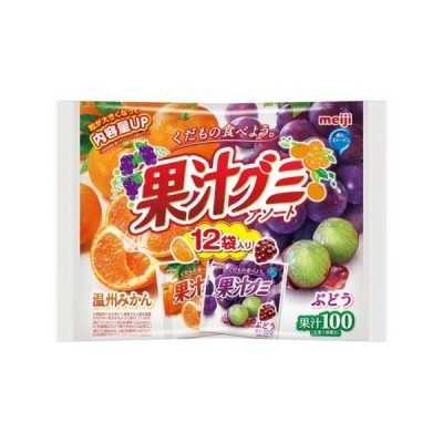 明治 果汁グミアソート 163g×18個セット /果汁グミ (毎)