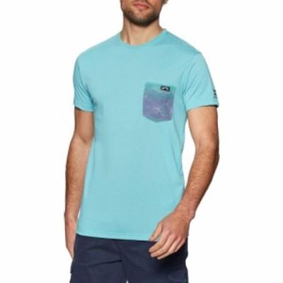 ビラボン Billabong メンズ Tシャツ ポケット トップス team pocket short sleeve t-shirt Aqua