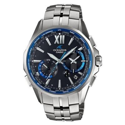 カシオ オシアナス CASIO OCEANUS マンタ ソーラー電波  メンズ 腕時計 OCWS34001AJF