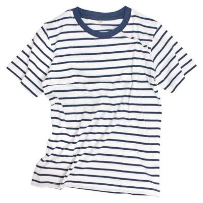 半袖 Tシャツ キッズ 男の子 子供 ボーダー シンプル Tシャツ 110cm 120cm 130cm