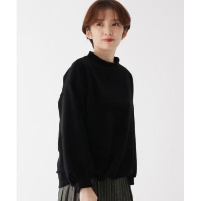【エッシュ】 ふんわりコール裾絞りプルオーバー レディース ブラック 42(L/ミセス) esche