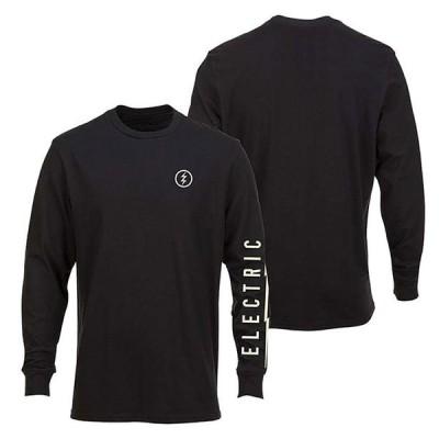 ELECTRIC (エレクトリック) ロンT 長袖 ロングTシャツ ICON LONG SLEEVE T-SHIRT BLACK スノボー スノーボード Snowboard