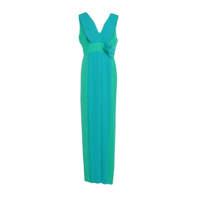 HANITA ロングワンピース&ドレス グリーン S ポリエステル 100% ロングワンピース&ドレス