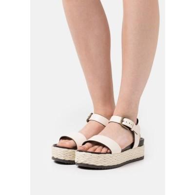 マルコポーロ レディース サンダル ILARIA - Platform sandals - offwhite