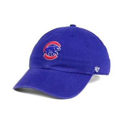 47ブランド メンズ 帽子 アクセサリー Chicago Cubs Core CLEAN UP Cap RoyalBlue